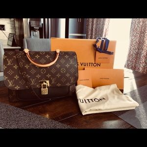 Authentic Louis Vuitton Marignan purse
